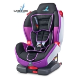 Autosedačka CARETERO Sport TurboFix purple 2017