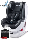 Autosedačka Caretero  Defender Plus Isofix black 2018
