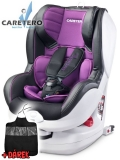 Autosedačka Caretero  Defender Plus Isofix purple 2018