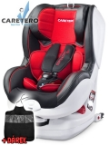 Autosedačka Caretero  Defender Plus Isofix red 2018